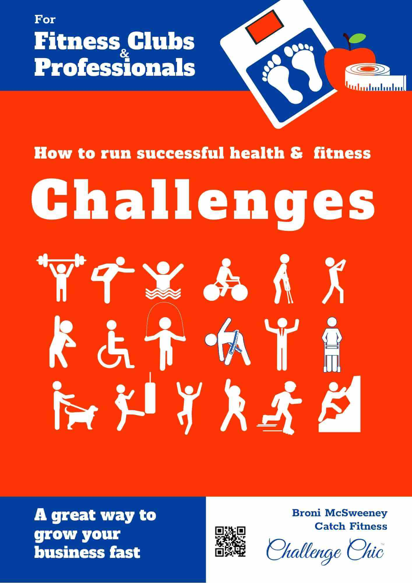 Cover to Fitness Challenge book